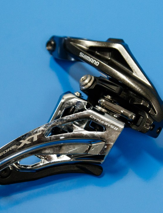 Another exmaple of a Shimano Side Swing derailleur