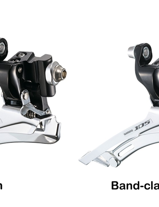 There are really only two types of road front derailleur mount, and the band-clamp type is becoming less common as the braze-on can be bolted up to fit anything