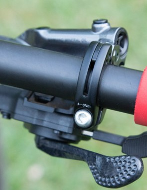 I-Spec is Shimano's proprietary technology for integrating mountain bike shifters and disc brake levers (Shimano only) into a single handlebar clamp (new I-Spec II pictured) - it offers a clean bar setup