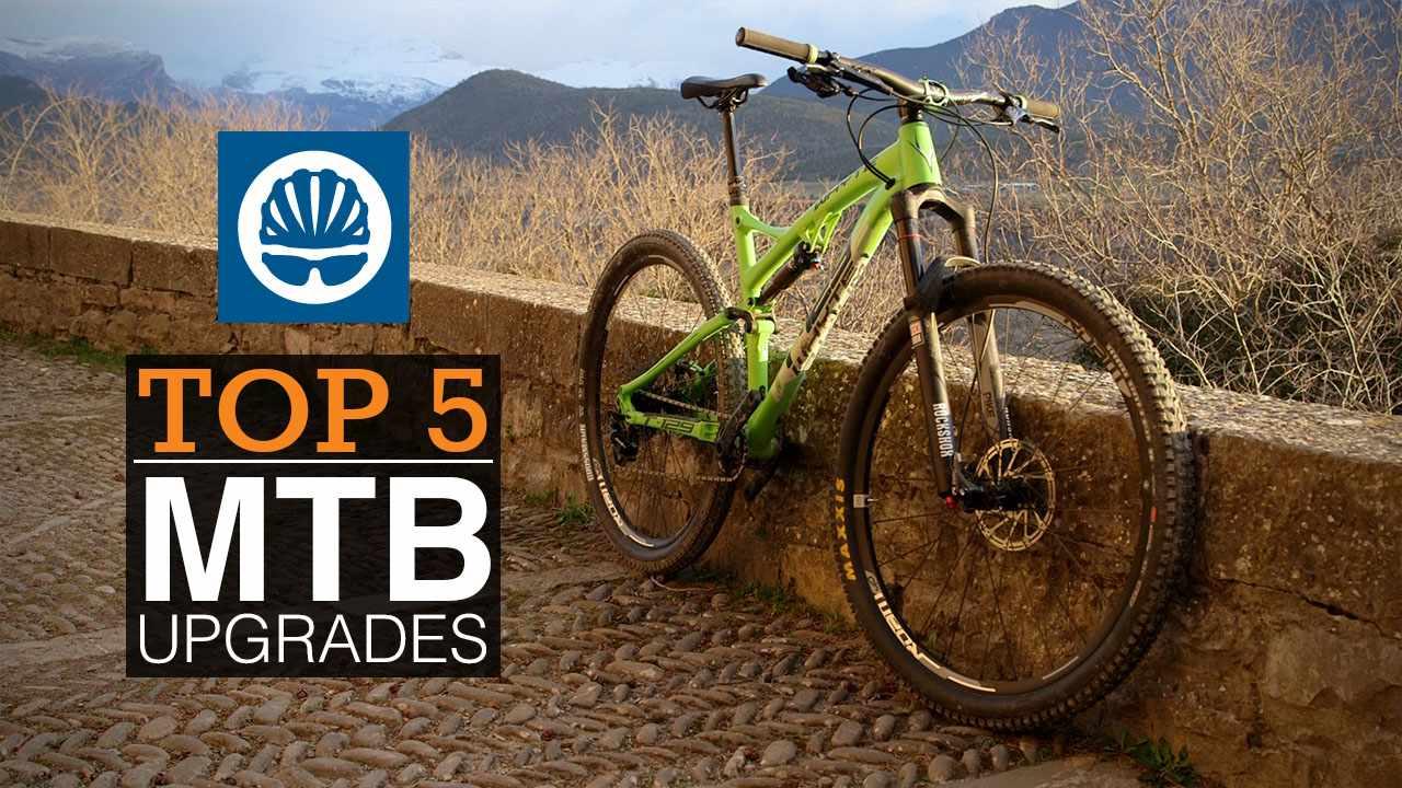 Top 5 MTB upgrades