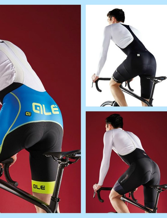 Bib shorts with a good padded chamois will help reduce the risk of saddle sores