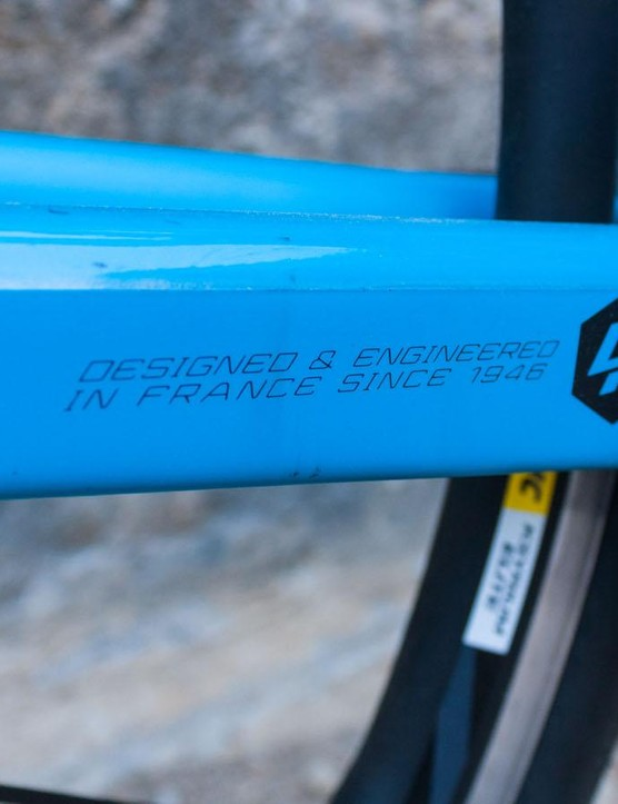 Lapierre makes its bikes in Asia, where they have a permanent contingent of engineers making sure everything is being produced to the highest standards
