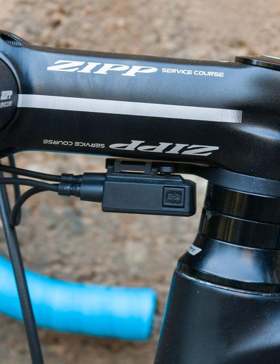 The mount for the Di2 junction box is a clever bit of design