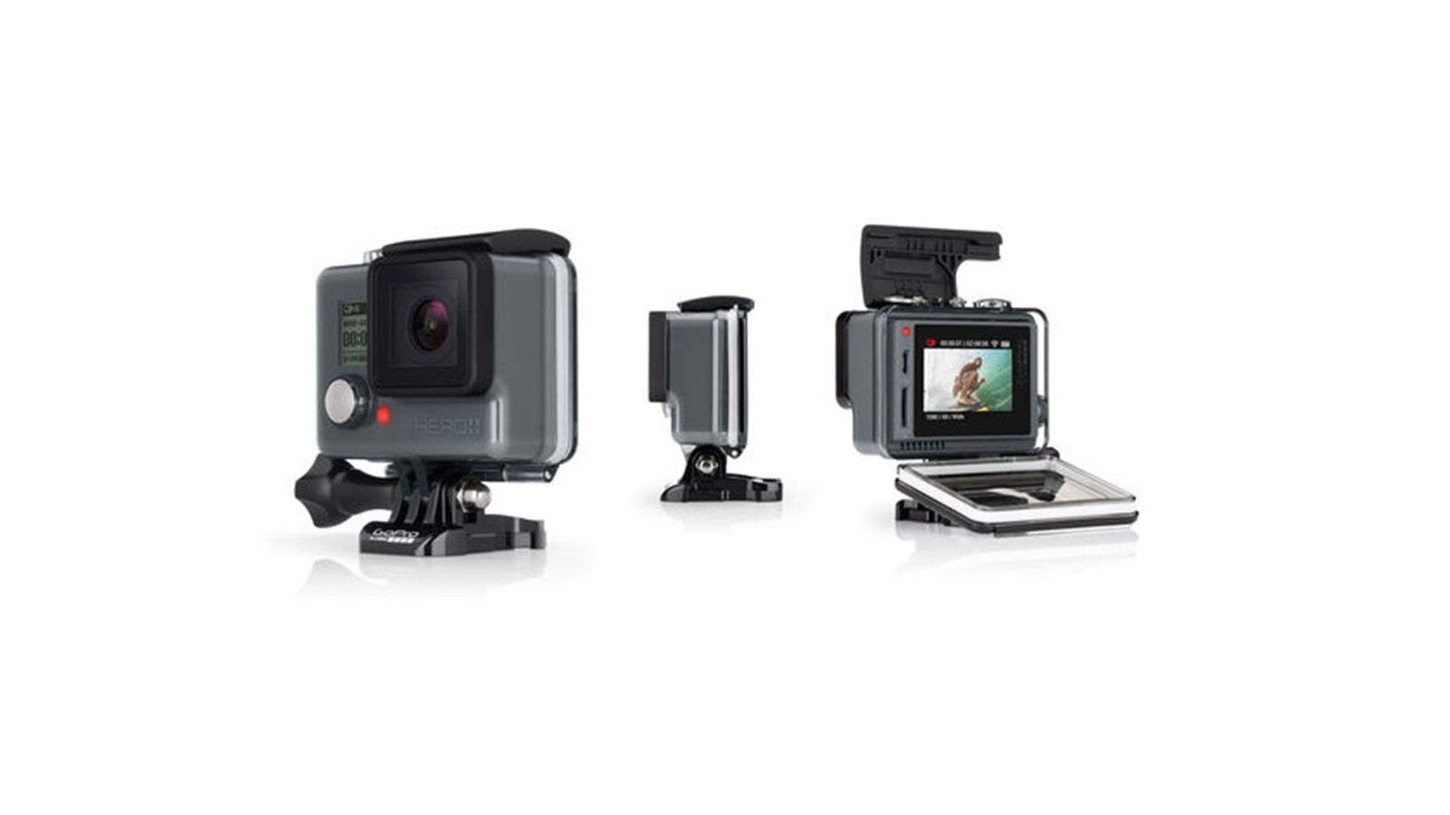 The new GoPro+ LCD brings bring touchscreen usability and wireless connectivity to a lower price point model