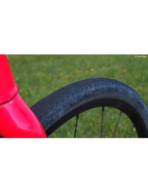 Specialized Tracer clinchers proved to be a great option for the demanding Baller's Ride with a reasonably fast roll on surfaced roads and excellent durability on the harsher gravel sections