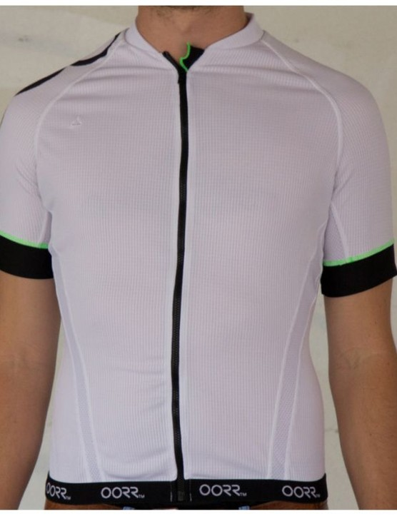 This jersey from OORR began its life cycle as a few plastic bottles