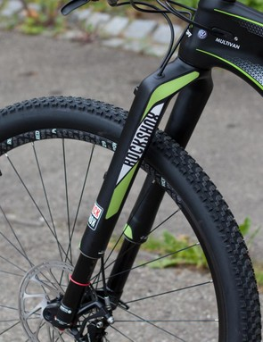 Lean hard on the RS-1 and you'll feel its wayward legs, but damping is well controlled and damn it looks badass