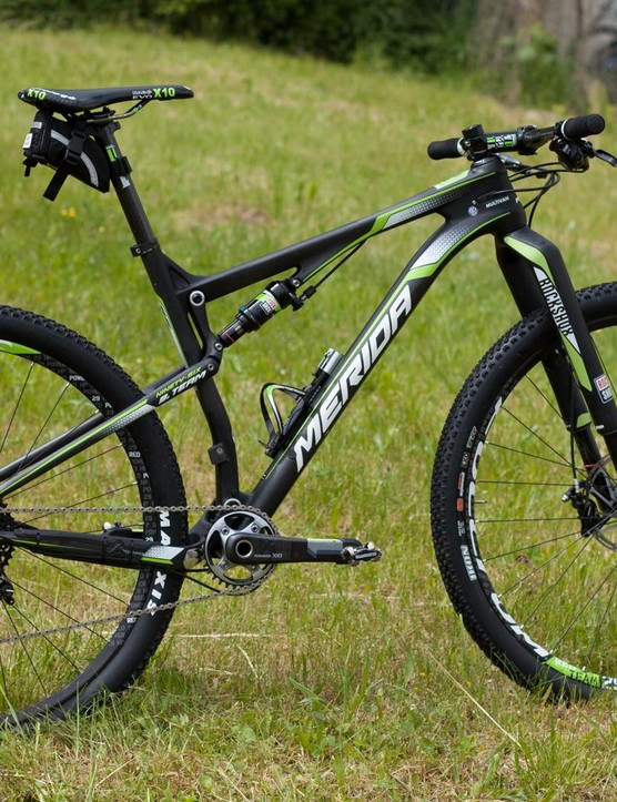 Merida's new Ninety-Six will arrive in both 650b and 29in options but unless you're of an average height you won't get a choice as to which wheel size you end up with