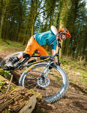 On-One's latest steel hardtail handles pretty well, especially on fast descents