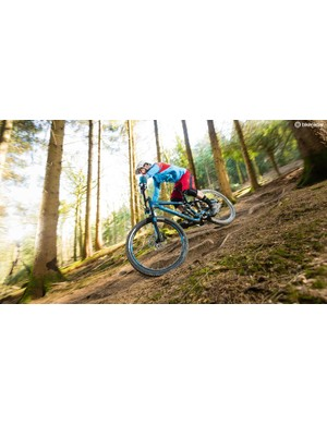 The Slash 7's sorted frame design and excellent suspension translate to a top ride