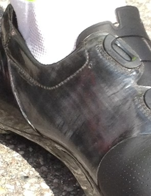 The inner material of the upper is definitely new, too. Specialized declined to comment on the shoes