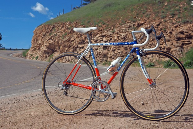 Alan McCormack's 1988 Schwinn Paramount looks practically new, 27 years after it was built