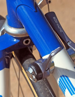 McCormack says that even modern drivetrains can't match the reliable performance of old indexed down tube levers