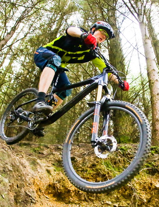 On technical trails which were familiar to our test rider, the bike was allowed to shine