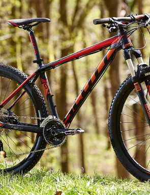 The frame is designed for brutally efficient transfer of pedal power