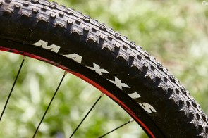 Maxxis Ikons are a well-balanced choice so long as things don't get too muddy