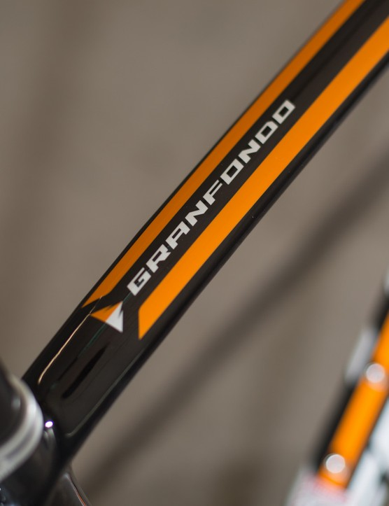 The Gran Fondo 2.3C is – as the name states – built for endurance rides