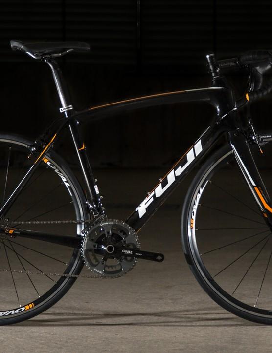 The Fuji Gran Fondo 2.3 C may not look flash, but it's a confident ride