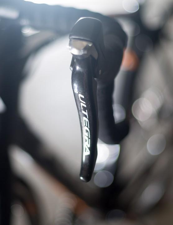 No faults from the Shimano Ultegra mechanical shifting