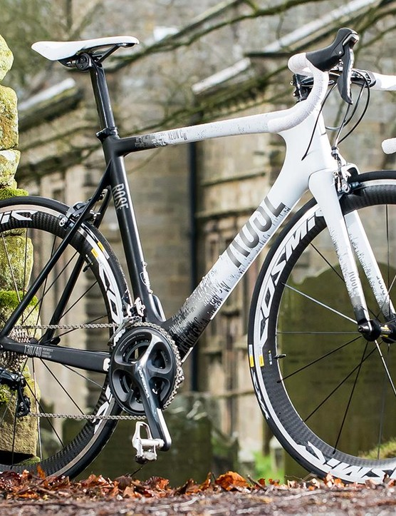 Rose's Xeon CW road bike: as long as you're okay with the racy ride position, this is an enjoyable and easy distance cruiser