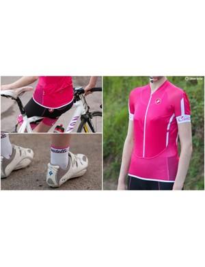 Castelli women's kit
