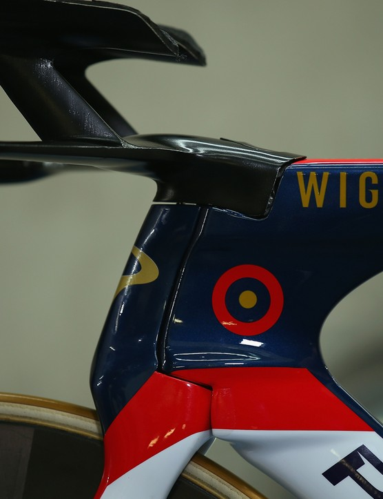 The nose of Wiggins' Bolide HR