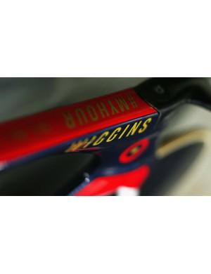 Bradley Wiggins' Pinarello Bolide HR bike