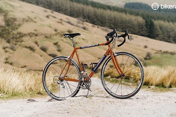 Holdsworth's Professional Corsa is a modern steel race bike in lovingly recreated retro garb