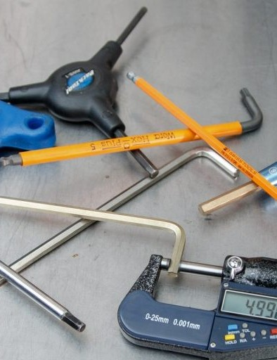 There's nothing exciting about measuring hex keys — but variances between brands exist