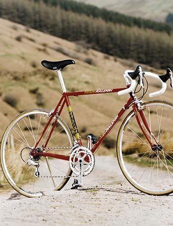 Raleigh's Ti Team Replica road bike will fetch you plenty of admiring glances