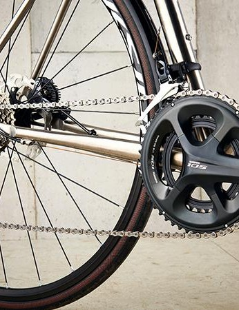 Shimano 105 gear gets the Enigma shifting