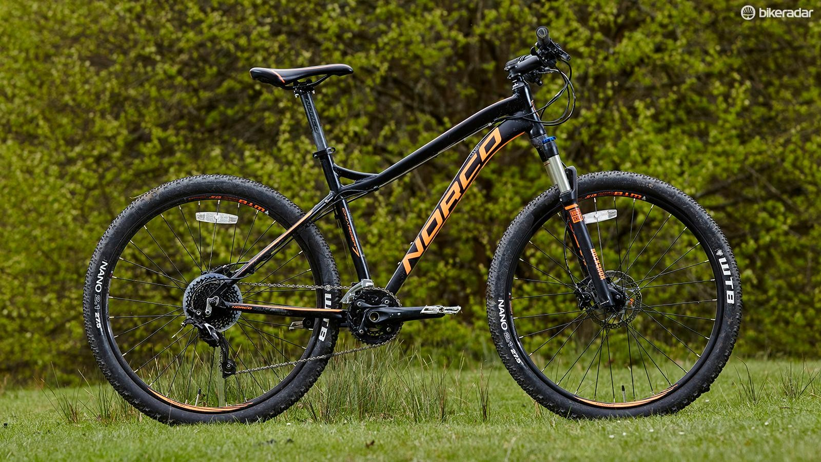 Norco's Charger 7.1 expertly blends decent components and tidy handling for a modest outlay
