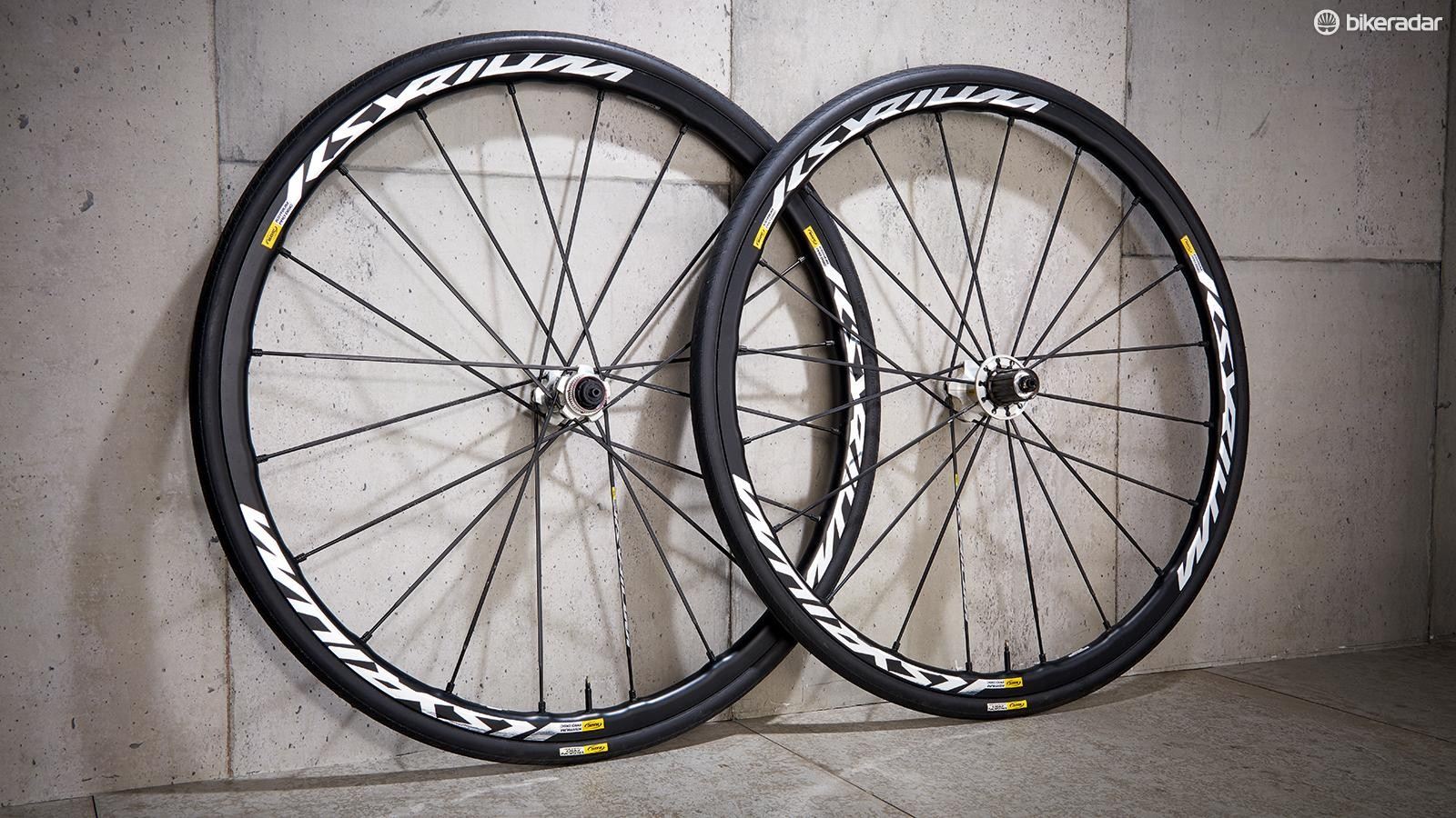 Mavic Ksyrium Pro Disc wheels