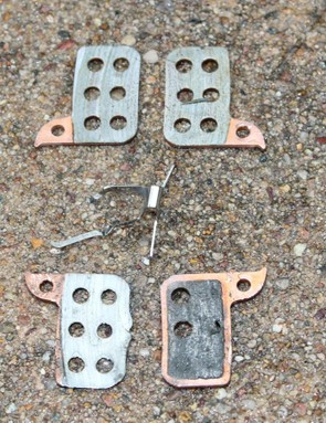 The prototype metallic pads for SRAM were also killed in a single muddy day