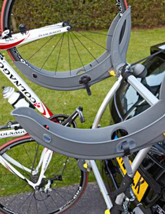 The Saris Gran Fondo bike rack