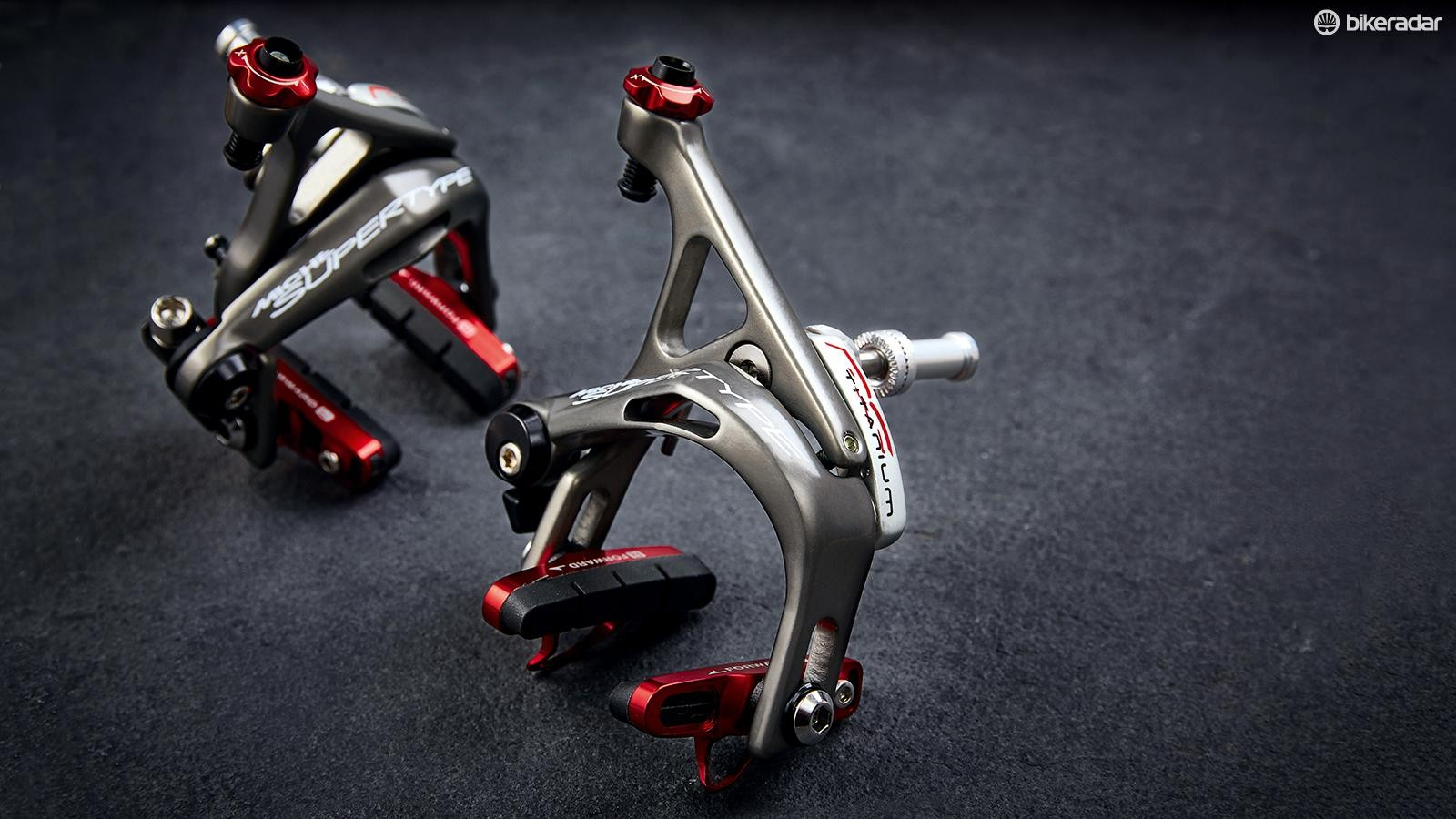 Miche's Supertype RS rim brakes are beautifully engineered