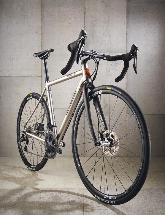The 'Industrial Mill' finish on our test ride oozes understated class