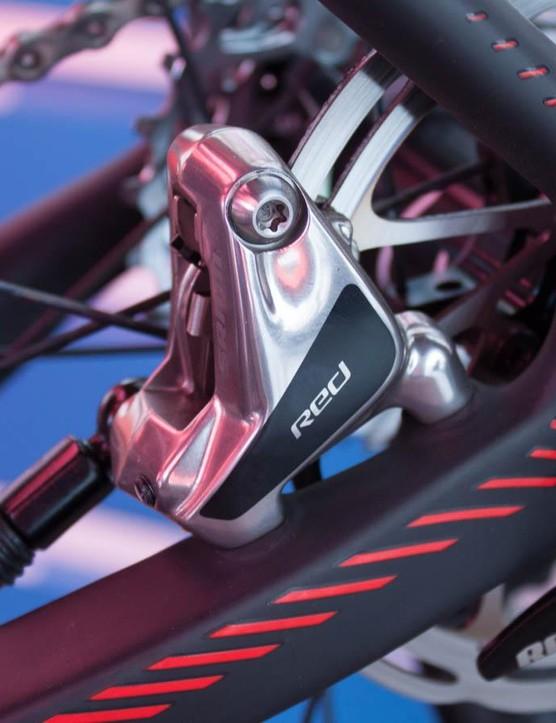 SRAM Flat Mount brakes