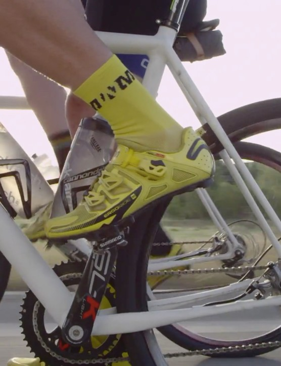 A still from Cannondale's latest YouTube video appears to show a new gravel road bike in pre-production form