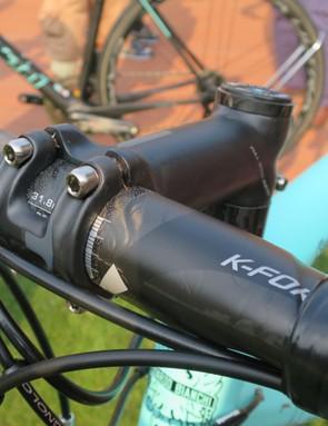 FSA's K-Force light carbon cockpit