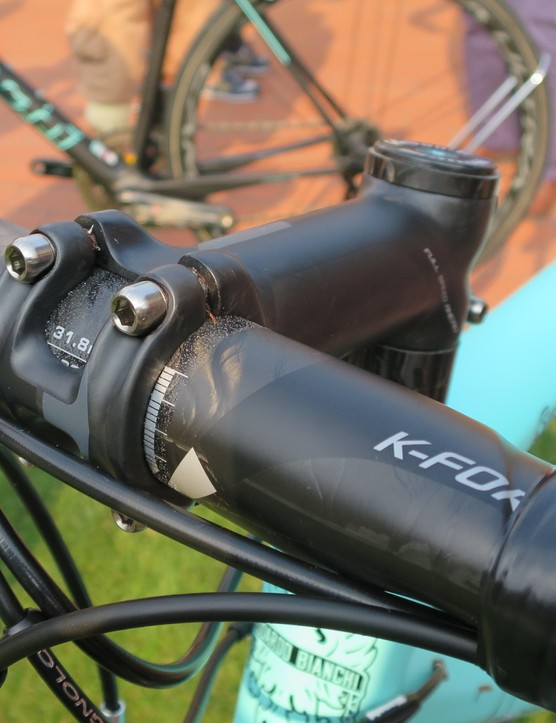 FSA's K-Force light carbon cockpit