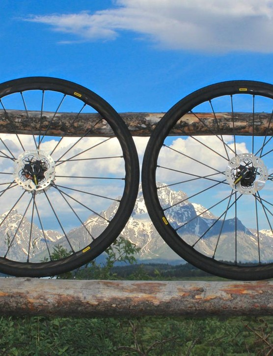 Mavic's new Pro Allroad Disc wheels are built for road riding off the beaten path