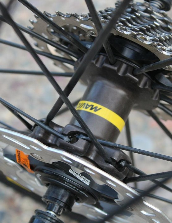 Mavic redesigned the hubs with a faster engagement and better seals