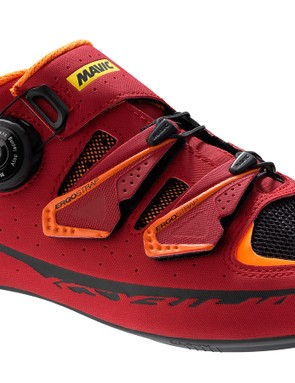 Mavic's Ksyrium Pro shoe in burgundy