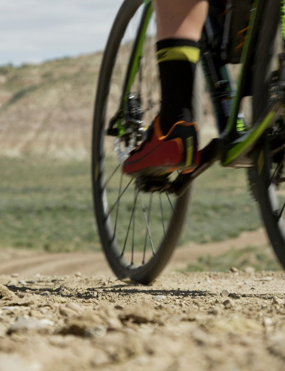 We tested the new Mavic Kysrium Pro Allroad Disc on an 80-mile ride in Wyoming