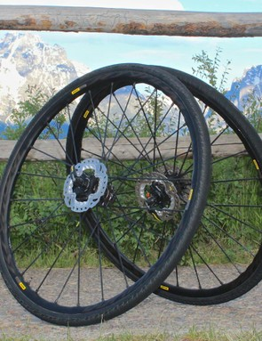 The Kysrium Pro Allroad Disc set weighs a respectable 1,620g