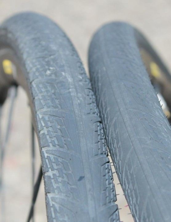 These 30mm tubeless-ready tires are included with the Kysrium Pro Allroad Disc wheelset