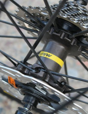 Mavic has a new nine-degree-engagement hub and improved seals