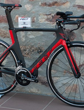 The B2 is Felt's top-end UCI legal time trial bike
