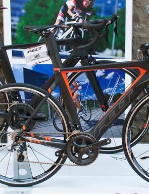 Felt's AR frame hasn't changed – according to Felt, it's still has industry-leading aerodynamics